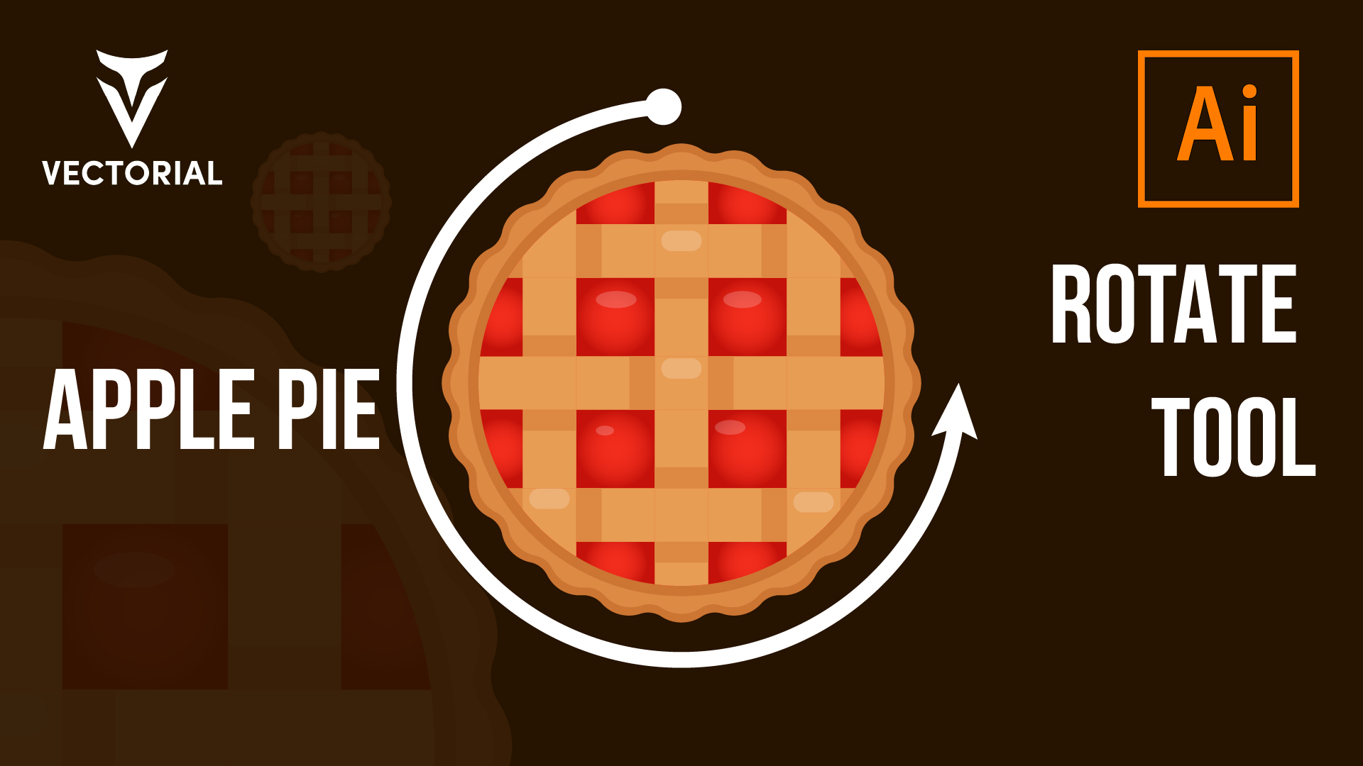 Apple Pie tutorial in Adobe Illustrator 2020