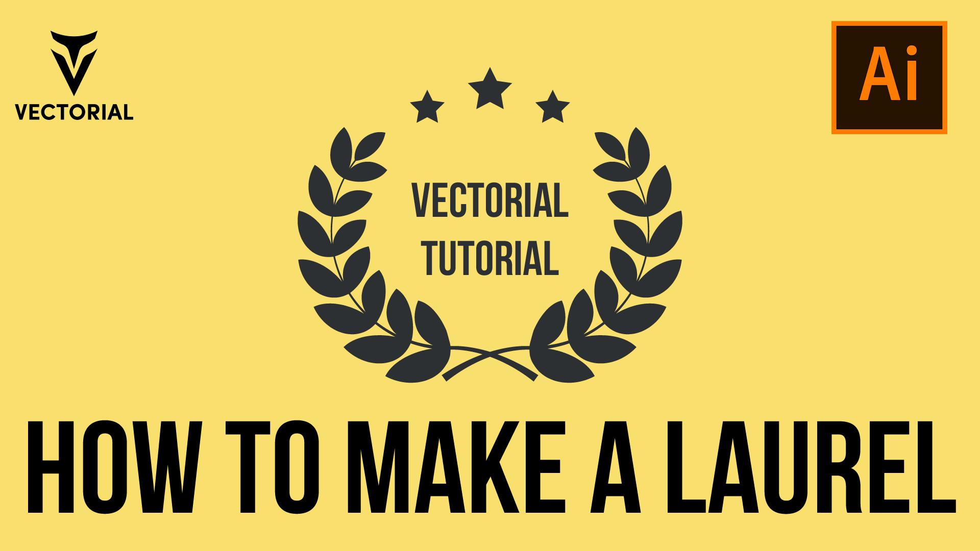 How to make a Laurel in Adobe Illustrator 2020