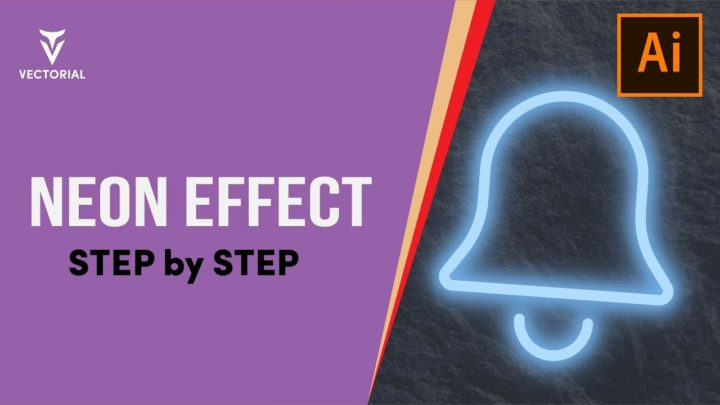 How to create neon effect in Adobe Illustrator