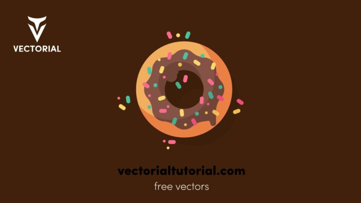 Donut – Free vector illustration