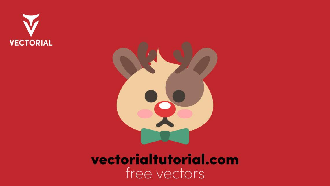 Cute Deer – Free vector illustration