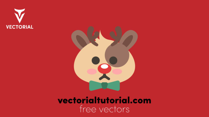 Cute Deer – Free vector illustration