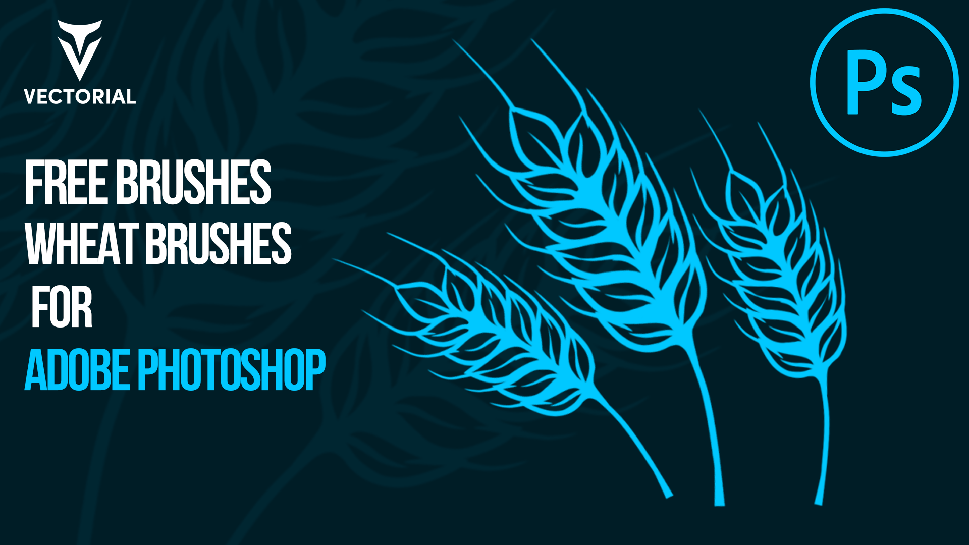 Free Wheat Brushes for Adobe Photoshop- ABR format