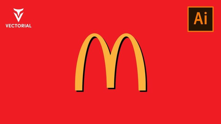 How to Make a McDonald`s logo in Adobe Illustrator
