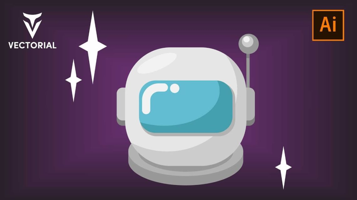 Astronaut tutorial in Adobe Illustrator