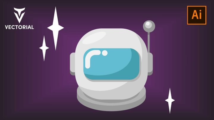 Astronaut tutorial in Adobe Illustrator