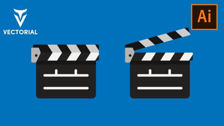 How to Make a Clapper Board in Adobe Illustrator – Easy tutorial
