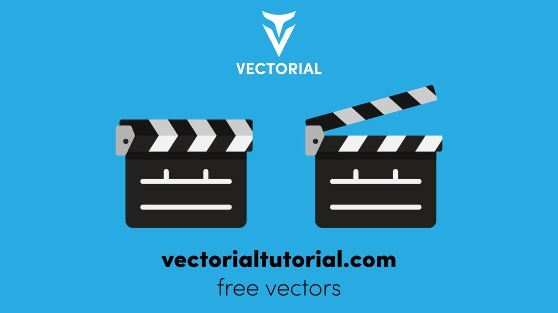 Film clappers boards – Free vectors