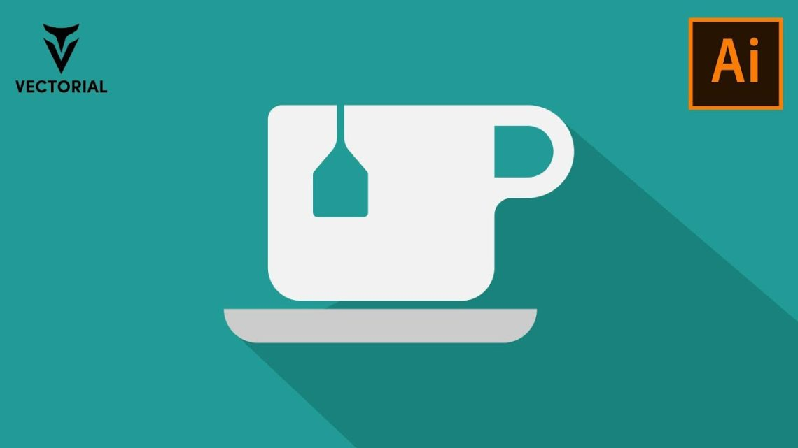 How to Make a Cup icon in Adobe Illustrator – Very Easy tutorial