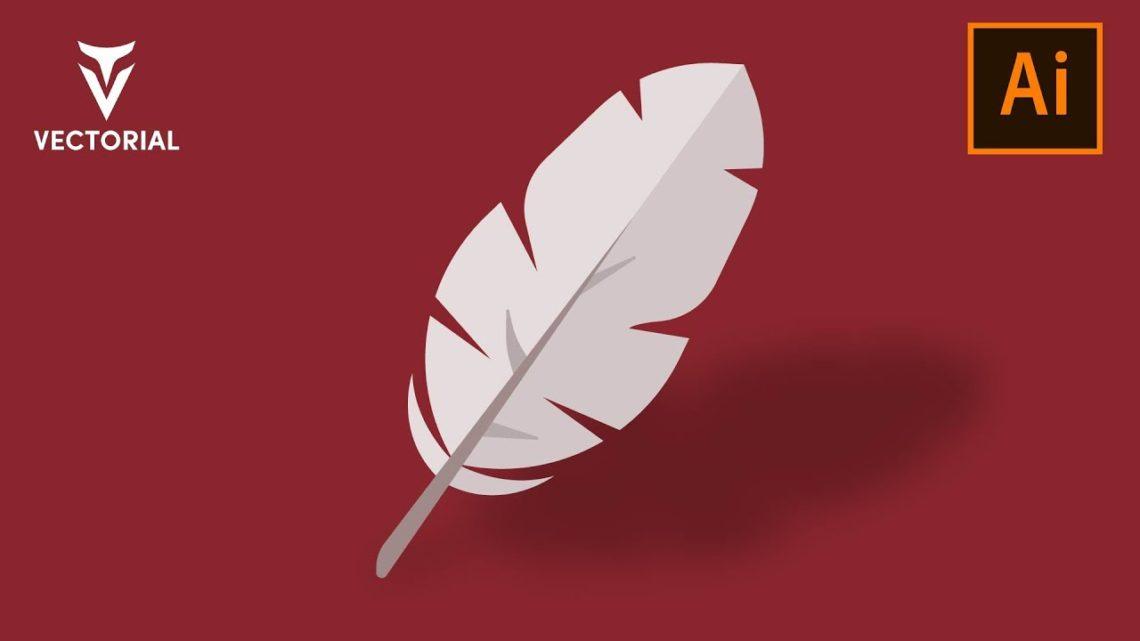 Feather tutorial in Adobe Illustrator
