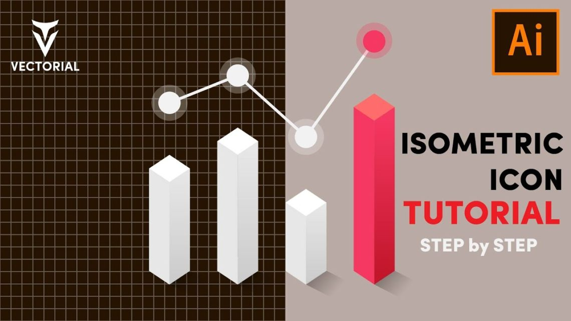 How to make a Isometric Icon in Adobe Illustrator: Step by step for beginners