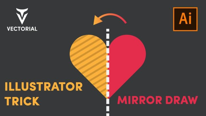 Mirror Draw tutorial – Adobe illustrator Trick