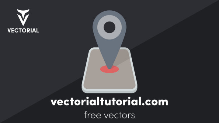 Location Pin icon – Free vector illustration