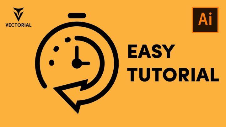 Timer icon tutorial in Adobe Illustrator