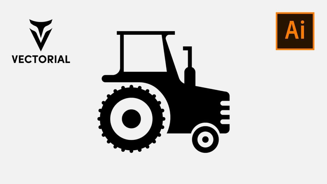 Tracktor icon tutorial in Adobe Illustrator