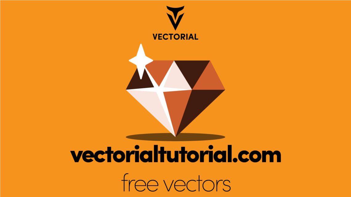 Diamond Free Vector illustration