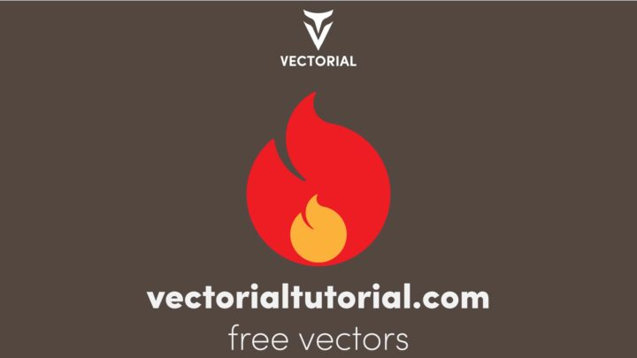 Fire sign. Fire flames icon isolated –  Free Vector illustration.