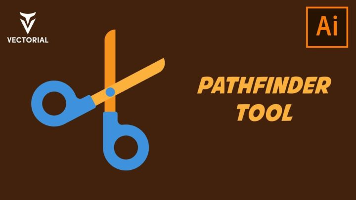 How to make a scissors in Adobe Illustrator – Pathfinder Tool