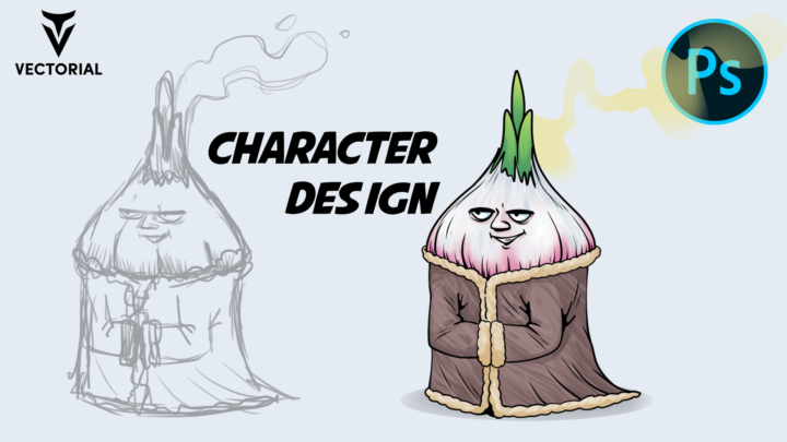 Character Design Tutorial in Adobe Photoshop