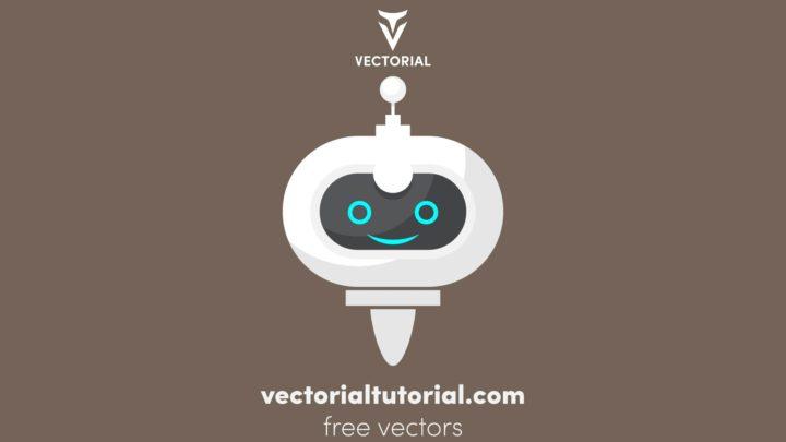 Flat design bot, robot vector illustration , bot icon